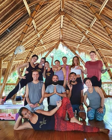 yoga teacher training My Power of Now Oasis Yoga Teacher Training in Bali