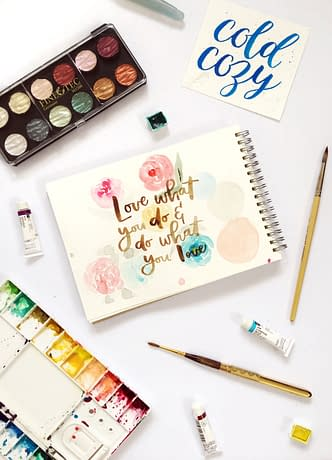 watercolor 101 fi Watercolor Calligraphy for Beginners