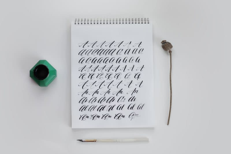 Finding my calligraphy style