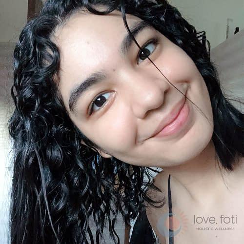 Final wash - Curly Girl Method