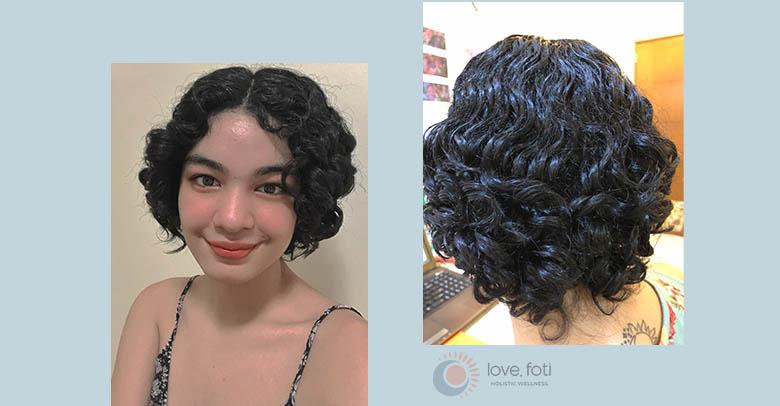 Rocking my short, curly hair!