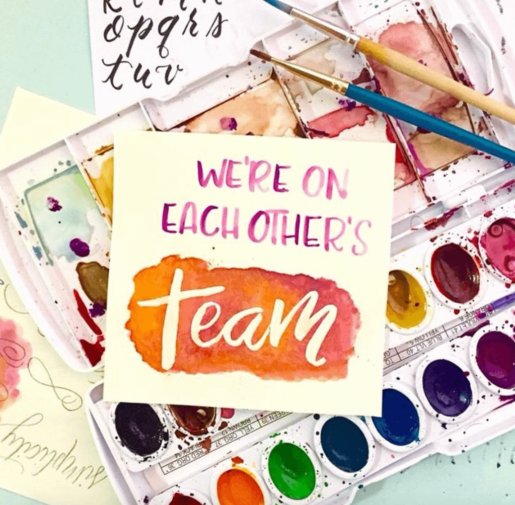 The Letter Belle - We're on Each Other's Team