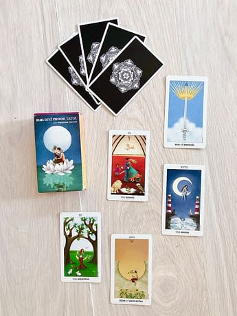 sun and moon tarot deck review 1 Deck Review: Sun and Moon Tarot by Vanessa Decort