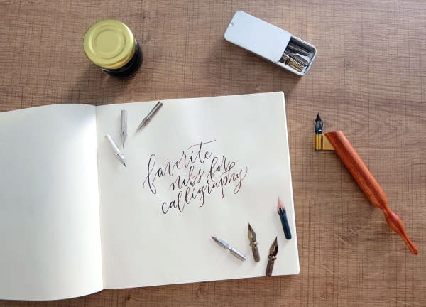 favorite nibs fi My 5 Favorite Nibs for Calligraphy