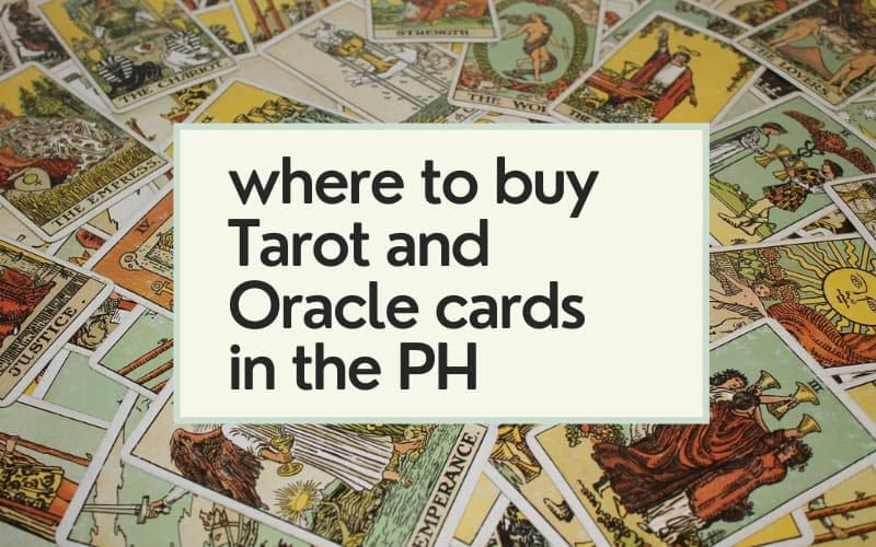 Where to buy Tarot Cards in the Philippines