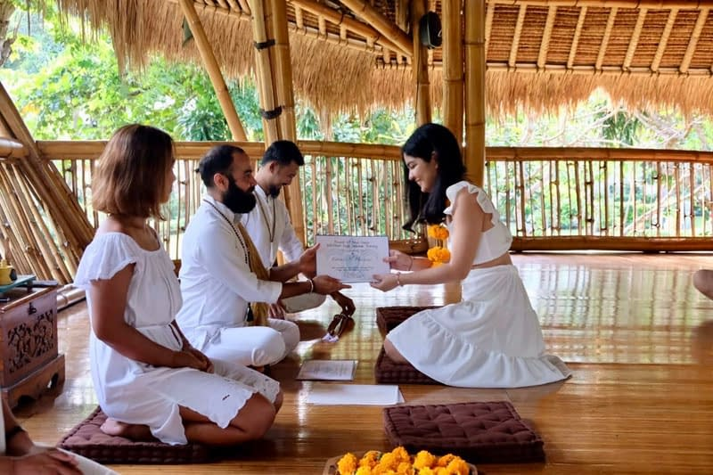 Yoga teacher training certification - My Power of Now Oasis Yoga Teacher Training in Bali